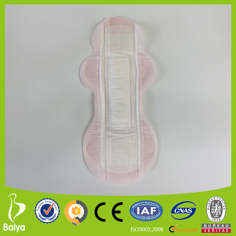 Free sample 245mm/305mm super thin and convex core NKD sanitary pads easy to carry