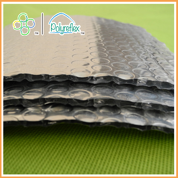 Fireproof aluminum foil heat insulation material/thermal insulation for metal construction building