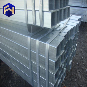RHS ! 69 galvanized steel tube 50X50X2.3X6000MM Pre-Galvanized Square Pipes/Tube for wholesales
