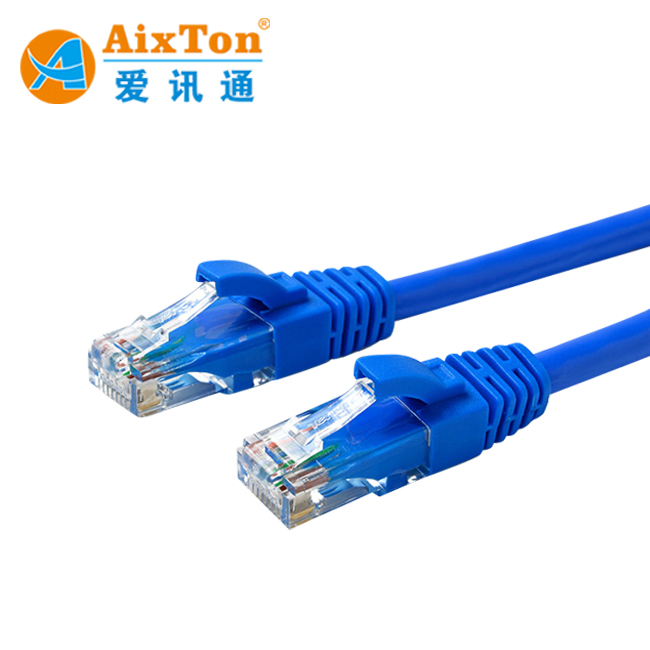 Other Enterprise Networking Hot Sale Patch Cable F/utp Cat.5e Blue 0.5m Computers/tablets & Networking