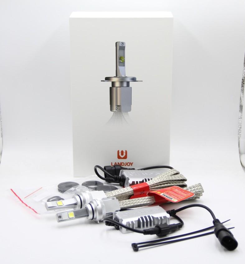 L7 H7 XHP70 Auto LED Scheinwerfer / 60W LED Scheinwerfer 6600LM H1 H3 H4 H11 H13 H16 HB3 2017 6000K 4300K P70