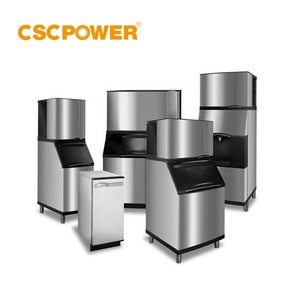commercial stainless steel cube ice making machine/countertop ice maker