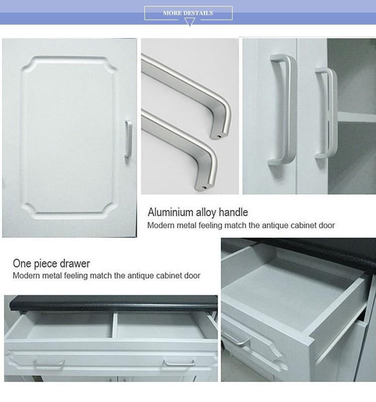Kitchen furniture 6233 cheap mdf 6 door kitchen cupboard for Cheap kitchen unit doors
