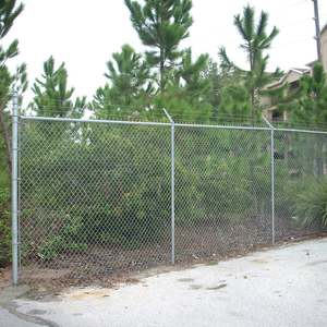 Galvanized iron 10x10 chain link fence panels