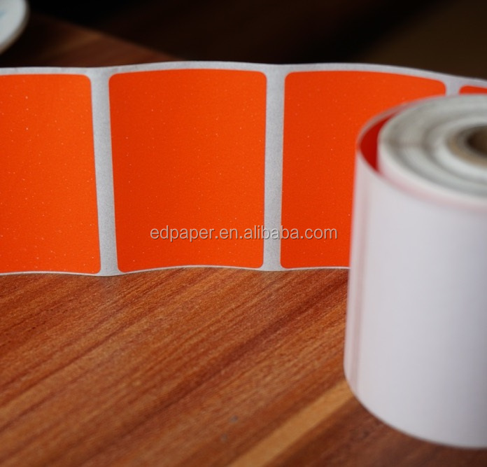 Self-adhesive Blank Fluorescent Paper Sticker Label