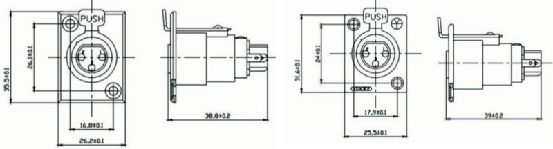 4 Pin Mini Xlr Wiring Diagram
