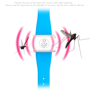Sonic anti mosquito repellent bracelet band insect repellent for kids adults/Mosquito Repellent band Portable Battery Operated