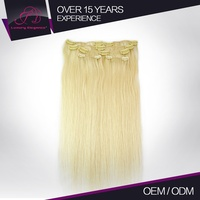 Wholesale Price Fashion Style Shedding Free Straight Clip In human Hair extensions Turkish Hair Factory