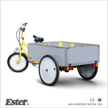 3 Wheel Pedal ESTER cabin Cargo Tricycle