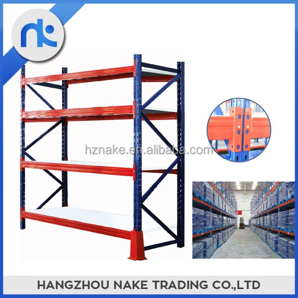 High quality steel heavy duty warehouse storage rack for supermarket