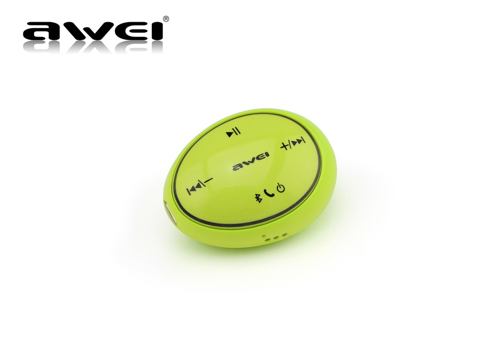Hot Sale Awei A100 Bluetooth Earphone mp3 players In-Ear Sports Headphones Intelligent Control Bluetooth Stereo Headset