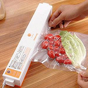 Household Food Vacuum Sealer Packaging Machine Automatic Electric Film Packer Including 15pcs Bags Foodsaver