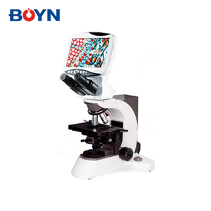 DMS-654 4X 10X 40X 100X LCD screen Compound Digital LCD Biological Microscope (Laboratory)