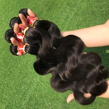 Ali grace hair body wave human hair extension,pink hair extension,high quality wholesale hair cambodia hair