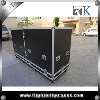 2017 Custom Design Hard Road Case with casters