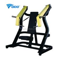 2017 Commercial Gym Equipment free weight Incline Chest Press machine indoor fitness equipment plate load chest press