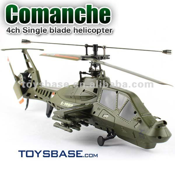 FX035 single-rotor 4ch helicopter apache