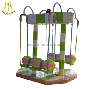 Hansel plastic play house amusement park game equipment attractions for children