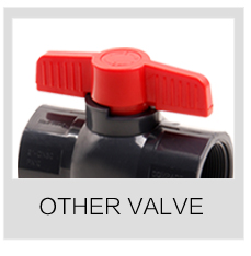 plastic pvc TU true union ball valve
