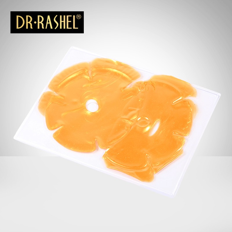 DR.RASHEL 45g Gold Collagen Bust Moisturizing Firming Smoothing Enlargement Sheet Breast Mask