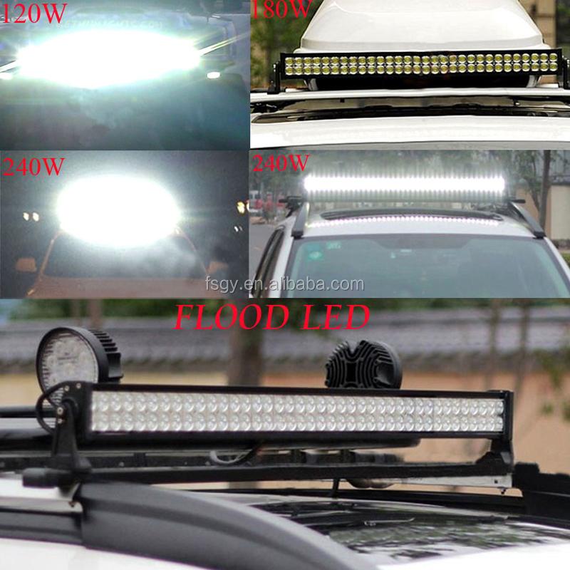 31.9\'\' 192w Car Led Work Light Bar Spot Flood Combo Beam Car Roof ...