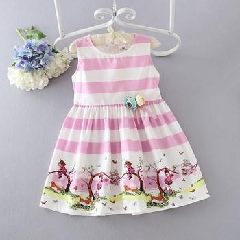 wholesale children s boutique clothing girls casual dresses kids simple  cotton frock design b49cbc5f0d