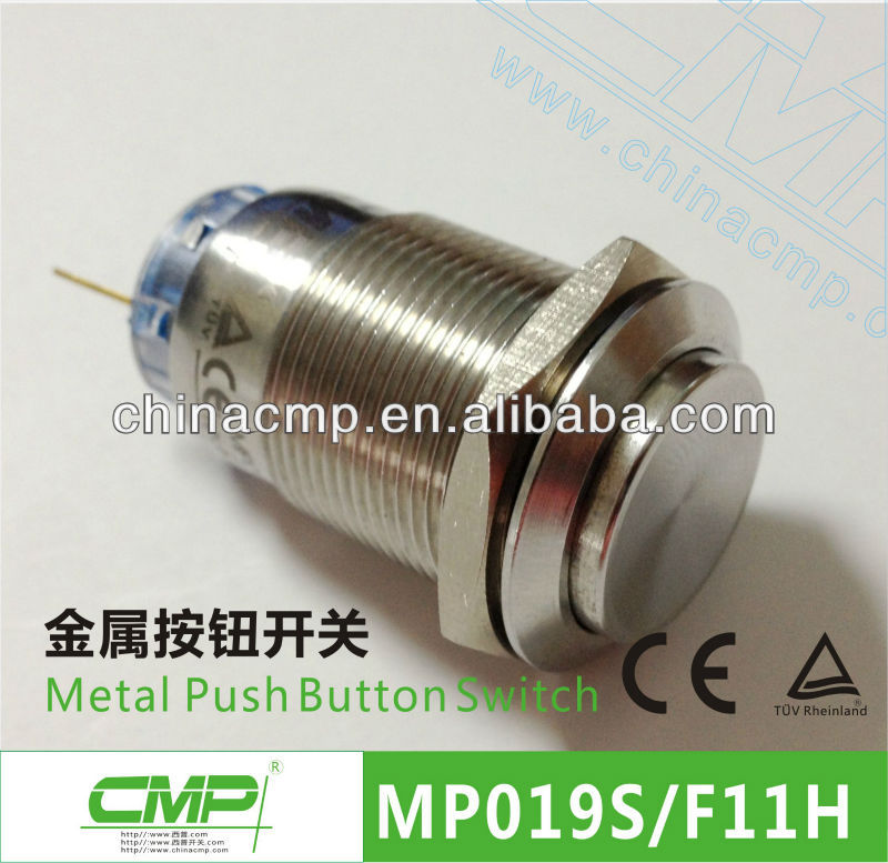 CMP 19mm Key Operated Push Button Switch