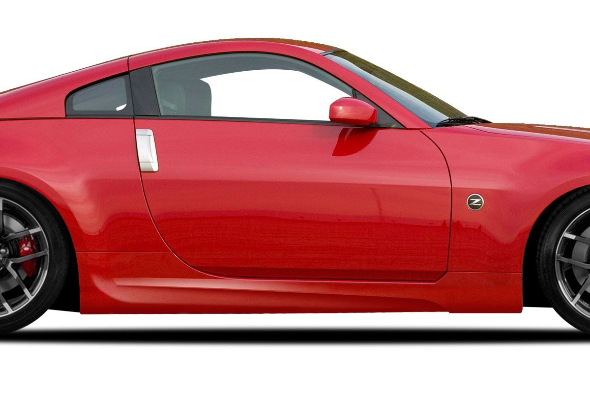 Couture Urethane AMS GT Side Skirts - 2 Piece Body Kit - Fits Nissan 350Z - 2003 2004 2005 2006 2007 2008 | 03 04 05 06 07 08 (ED-VZH-907)