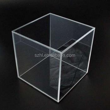 Stackable Cube Acrylic Display Storage Box 12x12
