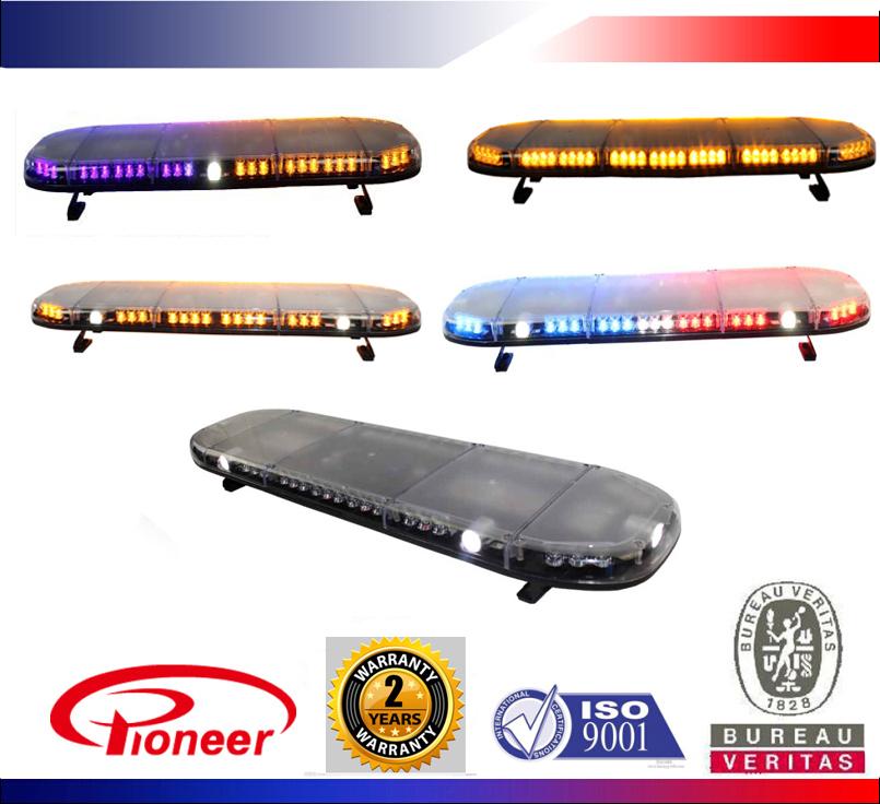 Police Car Led Light Bar,12v/24v,Fire Truck Light,Red/blue/amber ...