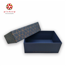 Custom Logo High Quality Marble Wax Paper Box With Lids
