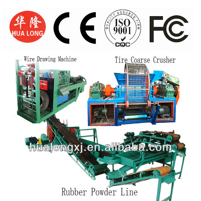 2014 the latest technology waste tire recycling machine,super wearproof knife