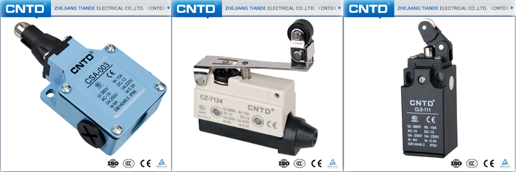 CNTD High Accuracy Iron Screw Terminal Plastic Roller15A Micro Switch120V (CM-1703)