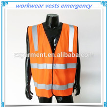 workwear vests emergency warning reflective