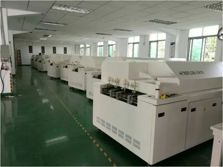 china manufacturer Lead-Free Hot Air Reflow oven for pcb smt assembly line