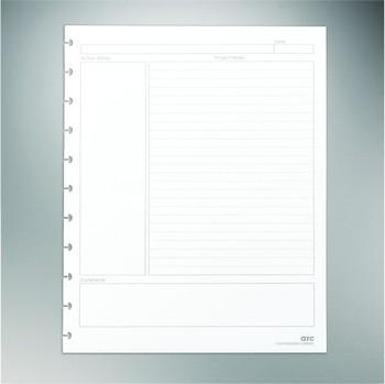 M Von Heftklammern Bogen System Projektplaner Premium Refill Papier Weiß 8 1 2 X 11 Buy Bogen Notebook Nachfüllen Papier Product On Alibaba Com