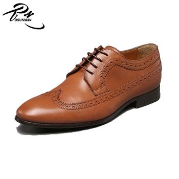 Tan Color Oxford Para Hombre Brogue Zapatos,Nuevos Zapatos Usados Para La Venta Cuero Brogue Zapatos Para Hombres Buy Mens Brogue Zapatos,Zapatos