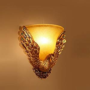 Cheap antique wall lights uk find antique wall lights uk deals on chxdd golden flying phoenix hotel corridor wall sconce continental antique bedside wall lamps bedroom balcony wall lights hallway wall lighting fixtures aloadofball Choice Image
