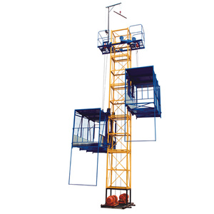 HNDC SS120/120 Best selling materials hoist of construction site Building lift price