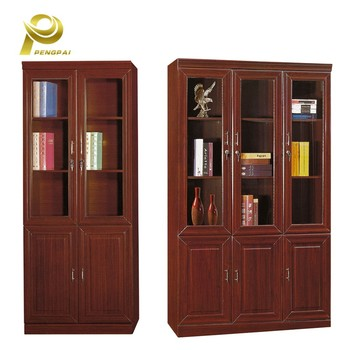 Office Furniture China Modular Wooden File Cabinet With Gl Doors