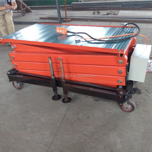 2015 New Product Electric Hydraulic Scissor Lift Rental Desk