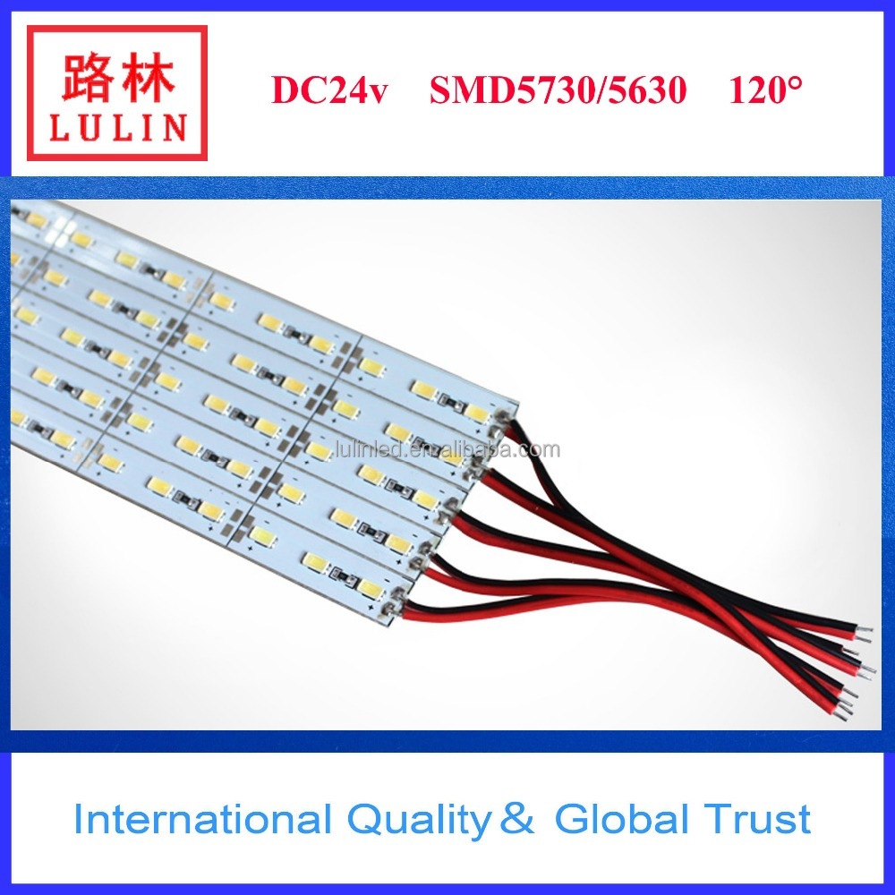 IP65 Waterproof SMD2835/5050 5630 Led Rigid Bar/ Led Strip 5050 30leds/m 0.5m
