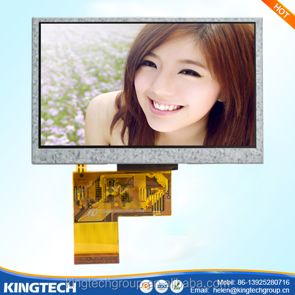 "oem/odm ltd 4.3"" inch tft lcd car foldable rearview monitor"