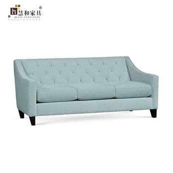 Custom American Style Soft Fabric Sofa Sets Cloth