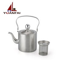 High quality stainless steel kettle korean tea kettle