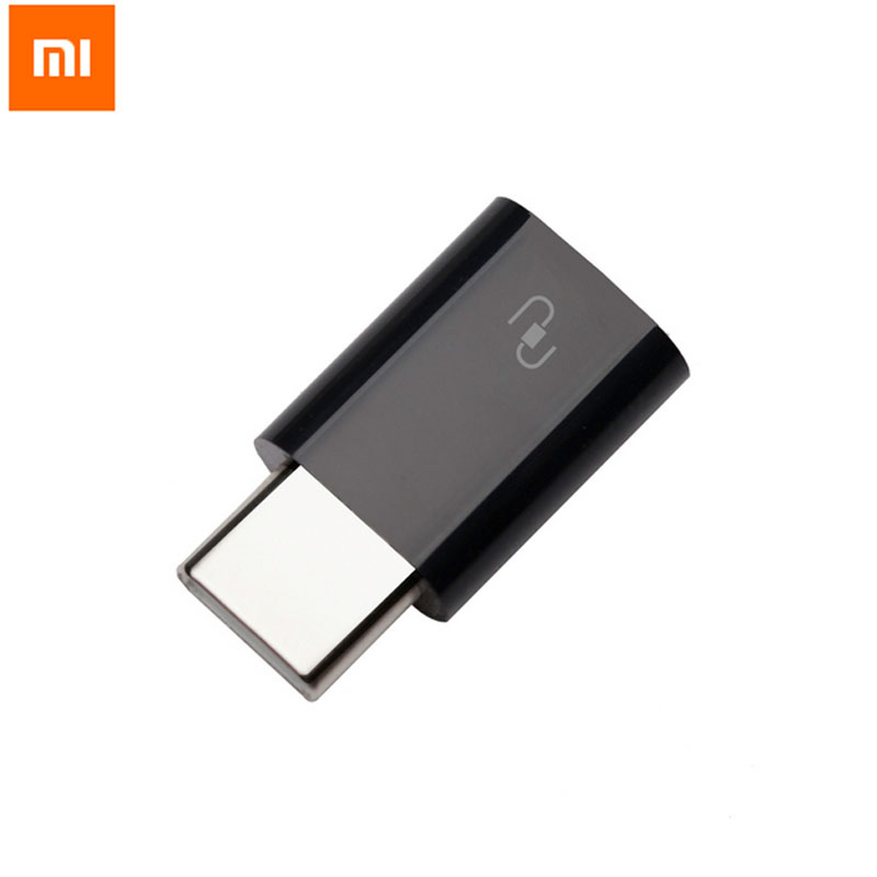 Original XIAOMI Type-C USB <strong>Adapter</strong> Mi4c Micro USB Female to USB 3.1 Type C Typec Male Cable Convertor Connector Fast Data Sync