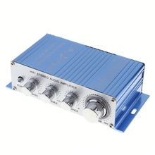 HY-2002 Hi-Fi DC 12 V Mini <span class=keywords><strong>Auto</strong></span> Car Stereo <span class=keywords><strong>Amplificatore</strong></span> 2 Canali <span class=keywords><strong>Amplificatore</strong></span> Audio CD di Supporto DVD MP3 di Ingresso Per <span class=keywords><strong>auto</strong></span> Moto Casa