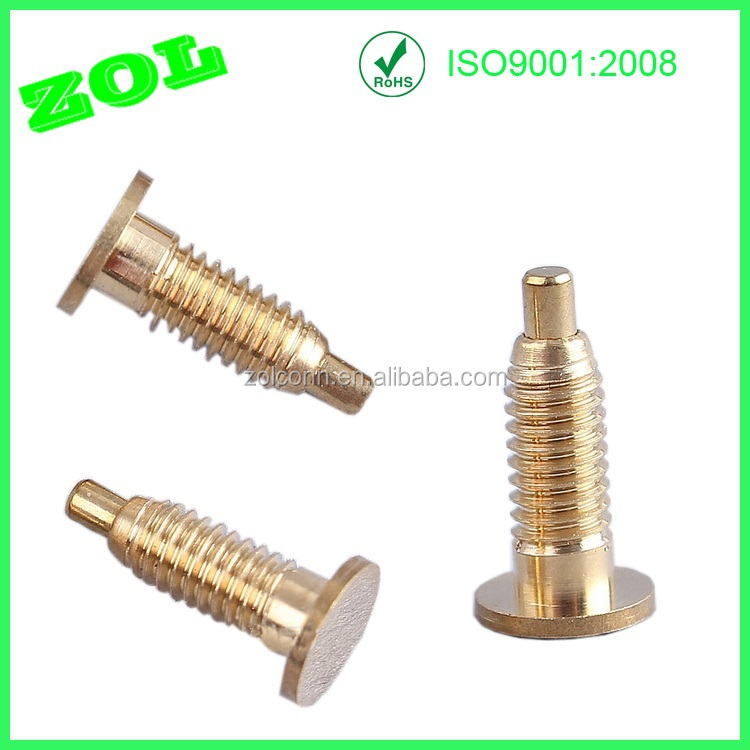Zol 3 Micro Gold Battery Spring Loaded Pogo Pin Connector