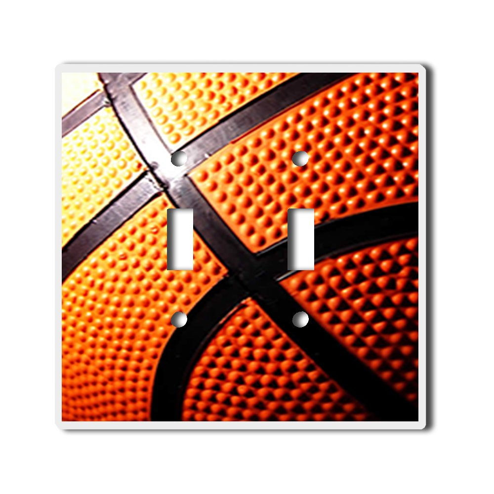 Light Switch Double Toggle Wall Plate Cover By InfoposUSA Basketball