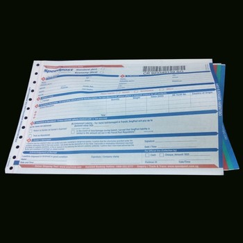 International airway bill printing excellent quality airway bill form